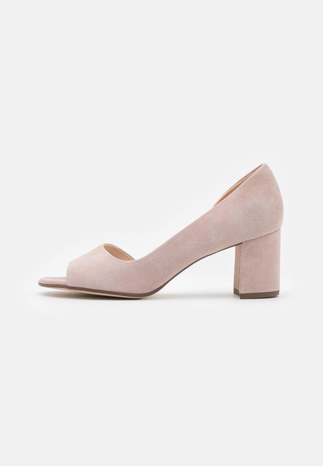 JASMIN - Peep toes - mauve