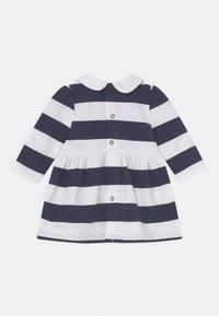 Tommy Hilfiger - BABY RUGBY STRIPE DRESS - Day dress - twilight navy - 1