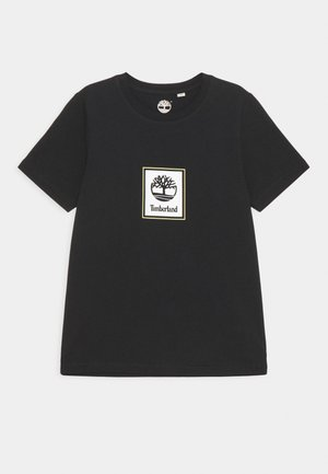 SHORT SLEEVES TEE - Triko s potiskem - black