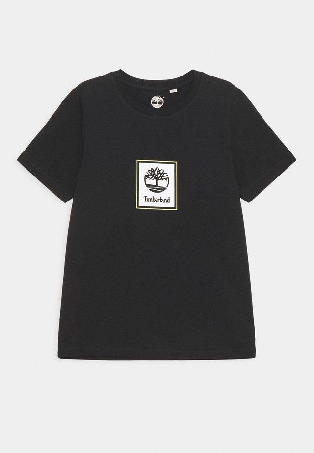 SHORT SLEEVES TEE - T-shirt imprimé - black
