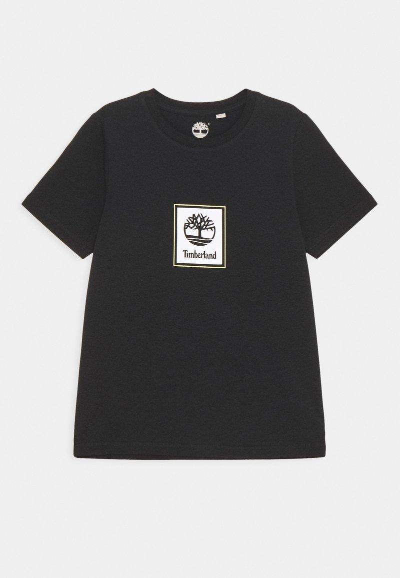 Timberland - SHORT SLEEVES TEE - Triko spotiskem - black