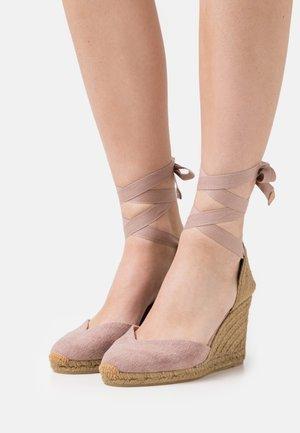 CHIARA  - Platform sandals - dusty pink