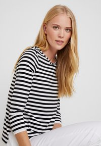 Esprit Collection - STRIPED - Long sleeved top - black - 3