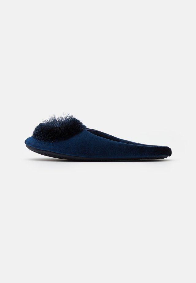 WIDE FIT CERES - Pantoffels - navy
