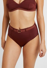 LOVE Stories - MOONFLOWER - Bikini bottoms - chocolat - 0