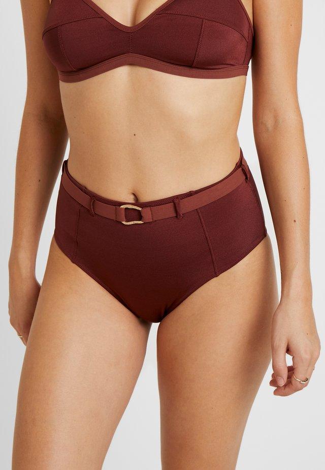 MOONFLOWER - Bikini-Hose - chocolat