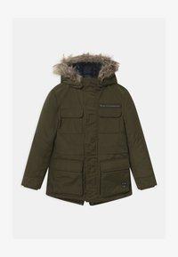 IKKS - 2-IN-1  - Zimní kabát - bronze/navy foncé - 0