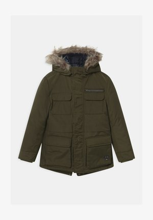 2-IN-1  - Winter coat - bronze/navy foncé
