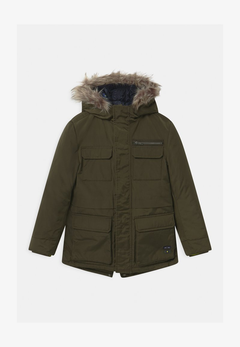 IKKS - 2-IN-1  - Zimní kabát - bronze/navy foncé
