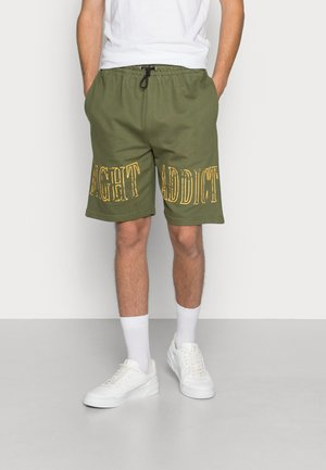Shorts - bottle green