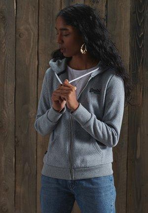 ORANGE LABEL - Zip-up hoodie - grey snowy