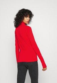 Weekday - CHIE TURTLENECK - Long sleeved top - red - 2