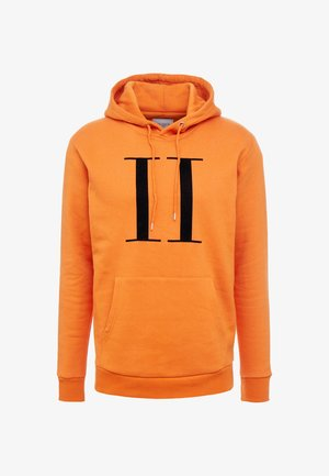 ENCORE HOODIE - Hoodie - burnt orange/black