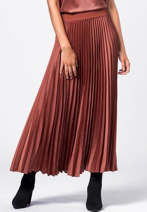 A-line skirt - terracotta