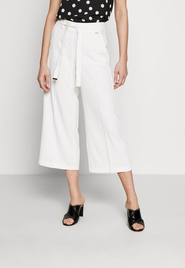 Spodnie materiałowe - offwhite