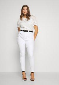 Fashion Union Plus - RON - Bluser - ivory - 1