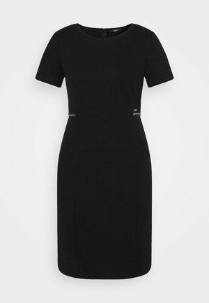 ABITO - Strikket kjole - nero