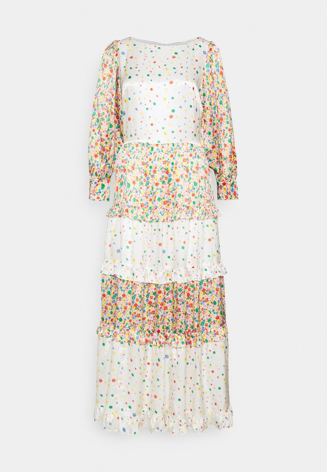 BIBI DRESS - Maxi šaty - rainbow floral