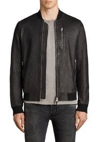 AllSaints - KINO  - Leather jacket - black - 0