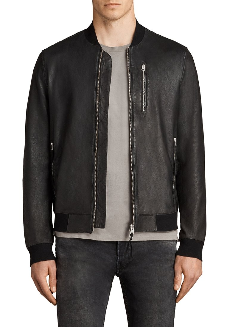 AllSaints - KINO  - Leather jacket - black