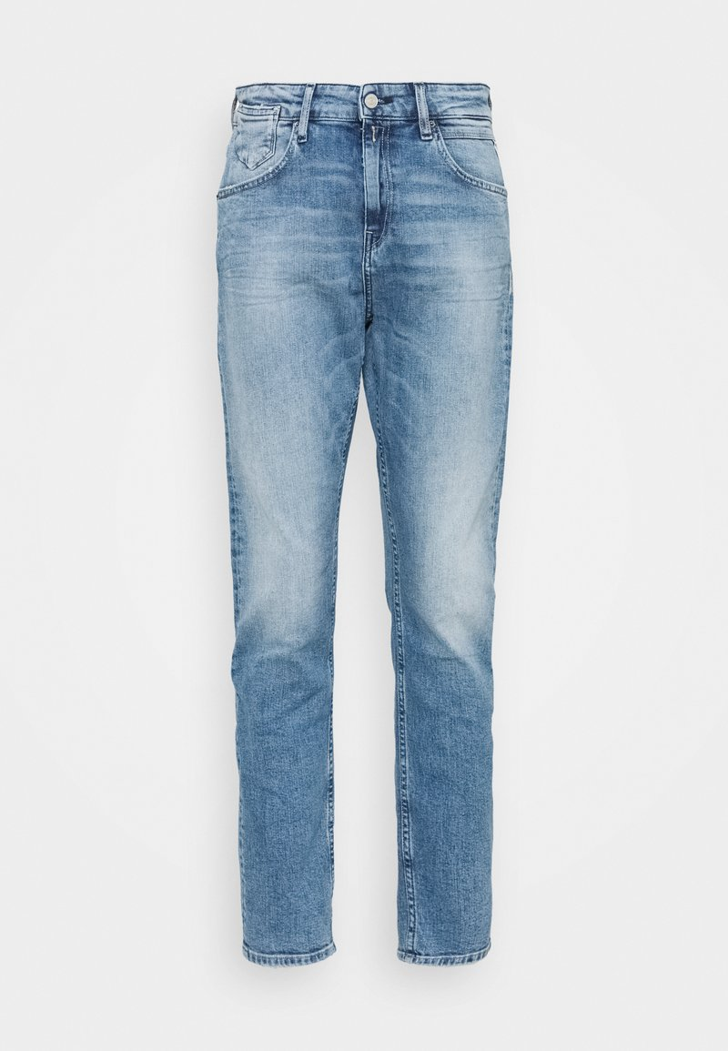 Replay - MARTY PANTS - Relaxed fit jeans - light blue