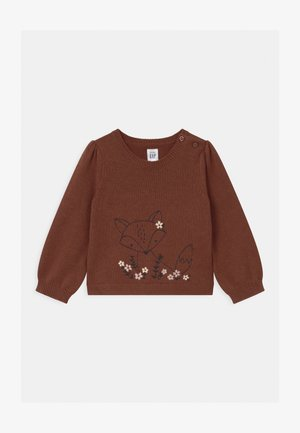 FOX CRITTER UNISEX - Jumper - copper spice