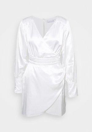 ALLURE DRAPE DRESS - Cocktailklänning - off white