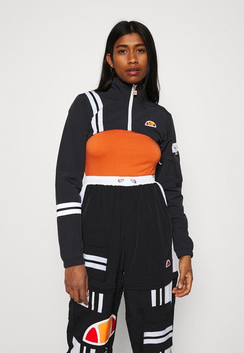 Ellesse - LAUDE CROP TRACK  - Summer jacket - black