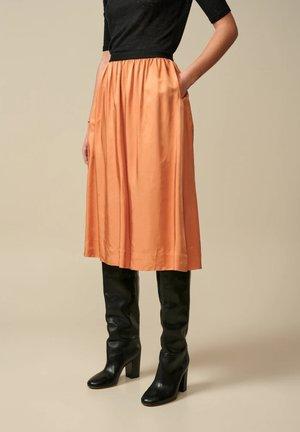 HOUX - A-line skirt - orange