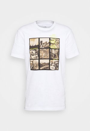 BASE FALL GRAPHIC TEE - Triko s potiskem - white