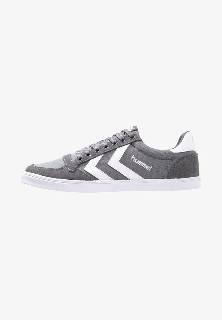 Hummel - SLIMMER STADIL - Sneakers laag - castle rock/white