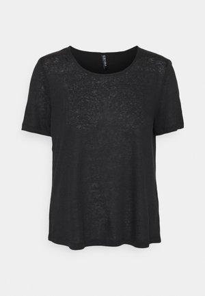 PCPHOEBE TEE - T-shirts - black