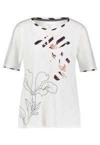 Marc Cain - DAMEN ARM - Print T-shirt - weiss (10) - 0