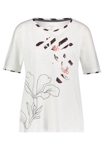 DAMEN ARM - Print T-shirt - weiss (10)