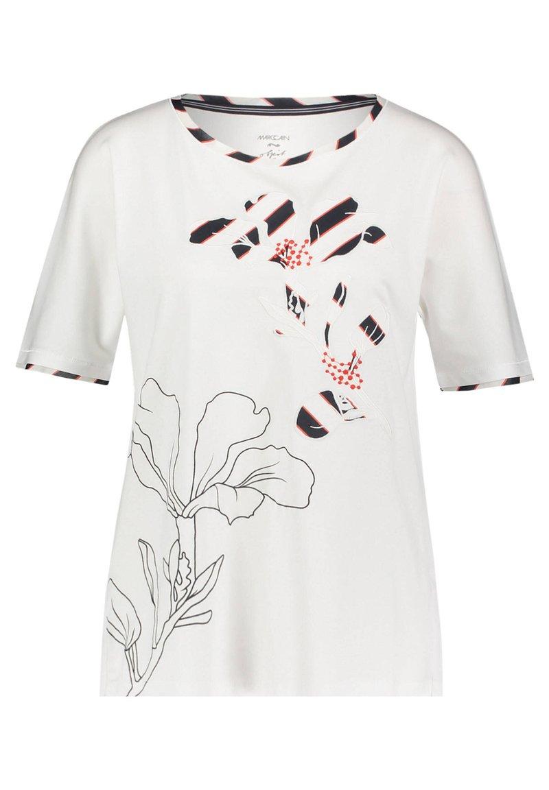 Marc Cain - DAMEN ARM - Print T-shirt - weiss (10)