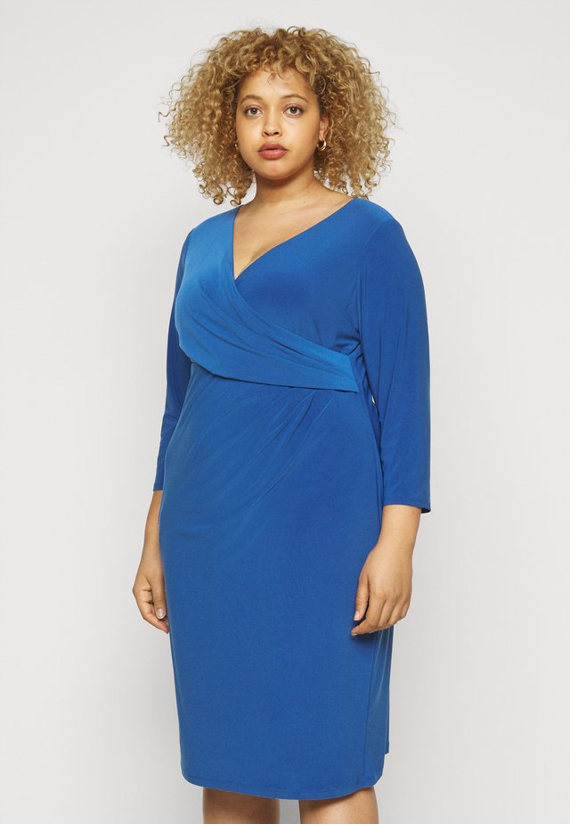 CLEORA  DAY DRESS - Shift dress - dark cerulean