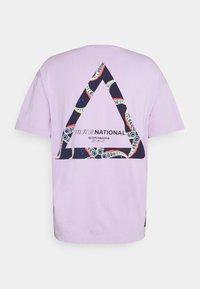 Scotch & Soda - RELAXED  - T-shirt print - lilac - 1