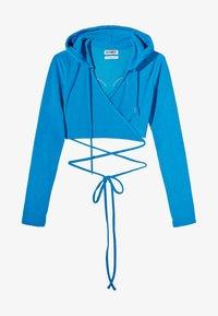 Bershka - Hoodie - blue - 4