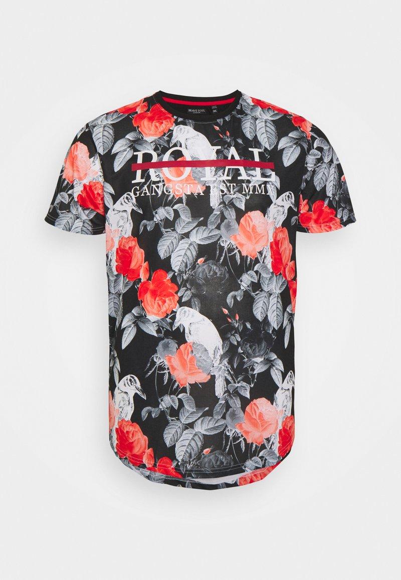 Brave Soul - RAVE - Print T-shirt - white