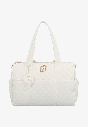 Baby changing bag - white