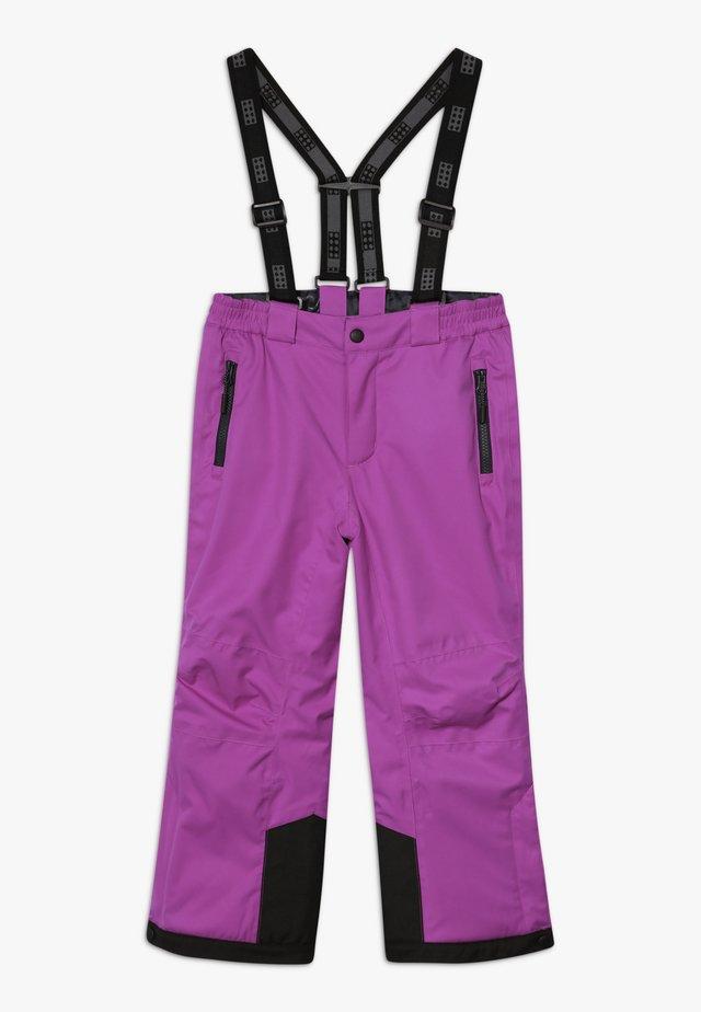 Pantalón de nieve - purple
