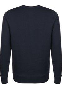 Tommy Jeans - SWEATER CORP LOGO - Sweatshirt - twilight navy - 1