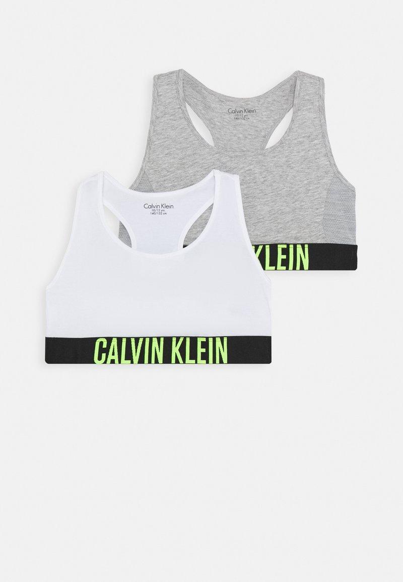 Calvin Klein Underwear - BRALETTE 2 PACK - Bustier - grey