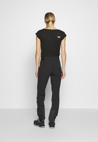 Salewa - AGNER LIGHT ENGINEER - Trousers - black out - 2