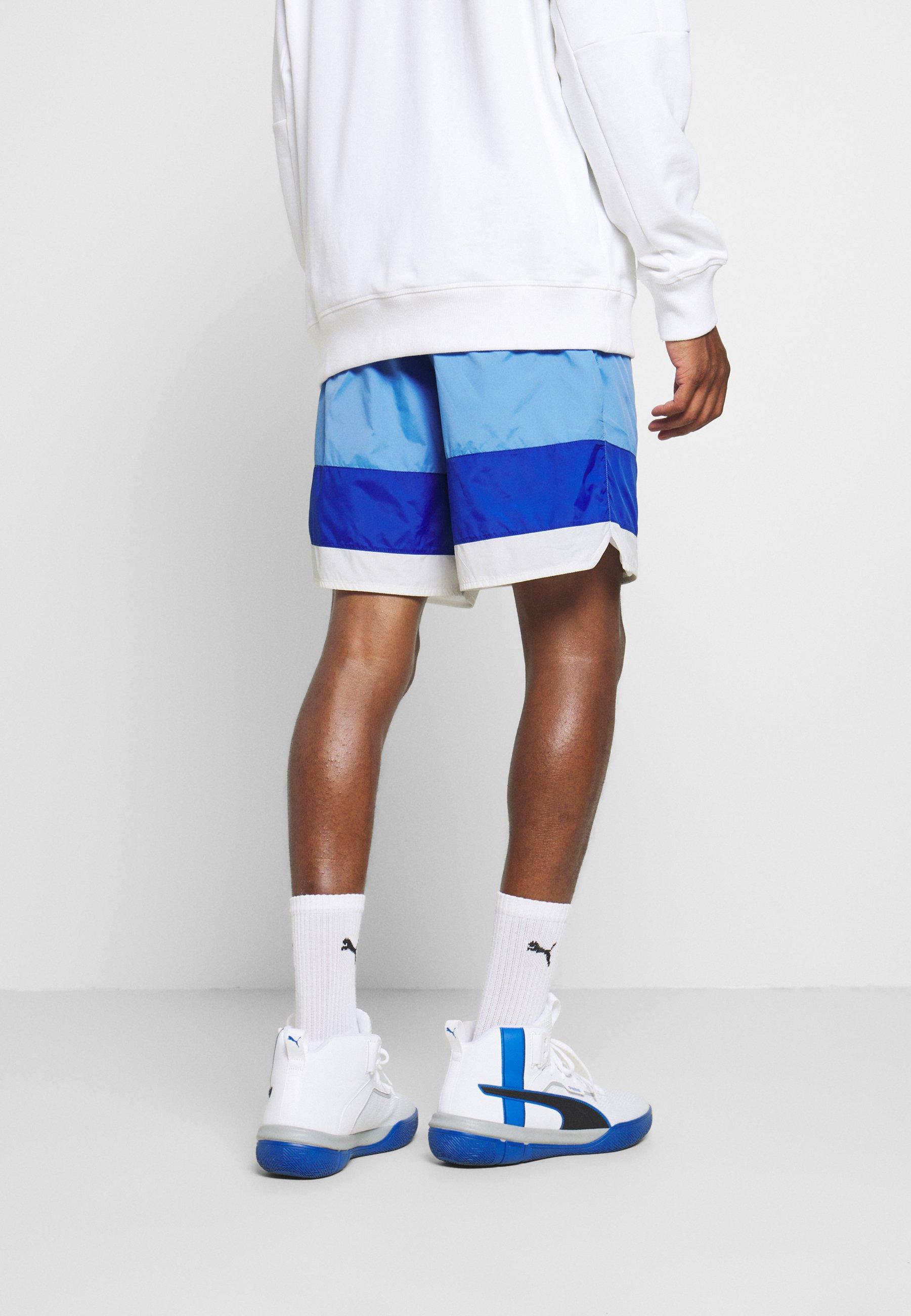 Achetez Le Meilleur Vêtements homme Mitchell & Ness NBA LOS ANGELES LAKERS STRIPED SHORT Short de sport blue p8QEybsO