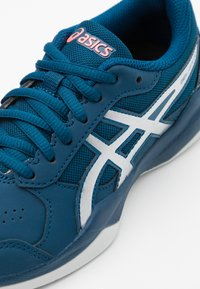 ASICS - GEL-GAME - Clay court tennis shoes - mako blue/pure silver - 5