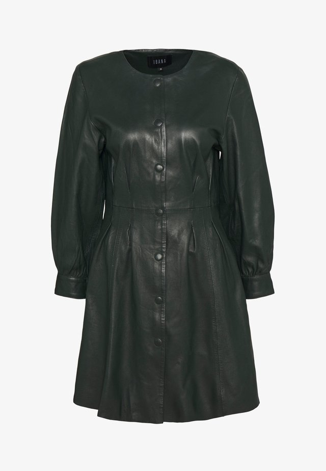 DANA - Shirt dress - dark green