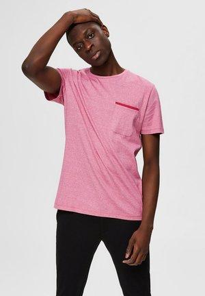 T-SHIRT DEZENT GLÄNZENDES - T-shirt basic - vivacious