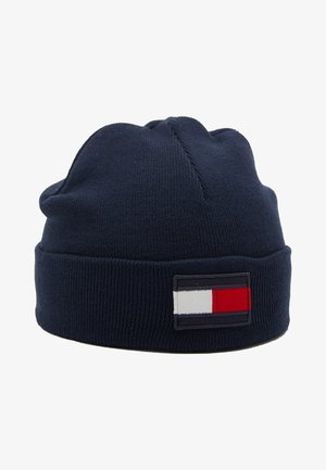BIG FLAG BEANIE - Huer - blue