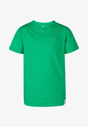 WE FASHION JONGENS T-SHIRT - T-paita - light green